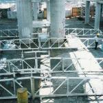 Jateamento de estruturas metálicas